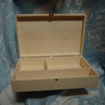 Caixa de baptismo (para guardar vela, concha e toalha)