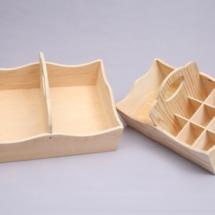 cestos para colocar artigos de bébe, entre outros